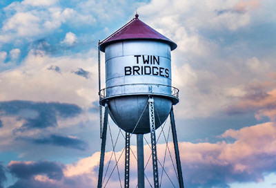 Twin Bridges Water Tower